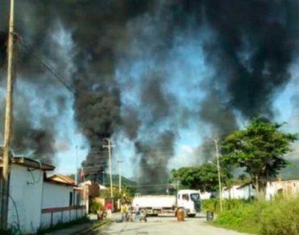 Tarek William Saab - incendio en planta pdvsa gas